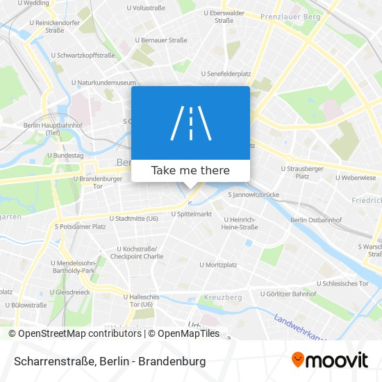 Scharrenstraße map