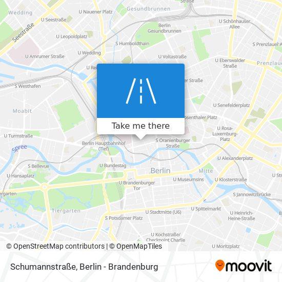 Schumannstraße map