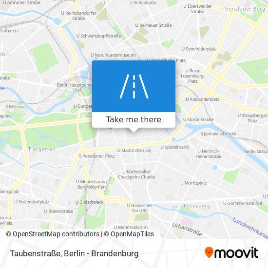 Taubenstraße map