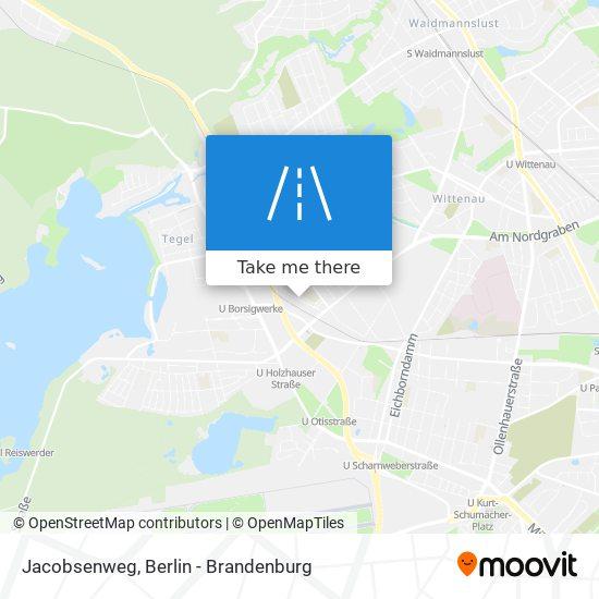 Jacobsenweg map