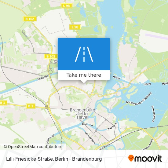 Lilli-Friesicke-Straße map