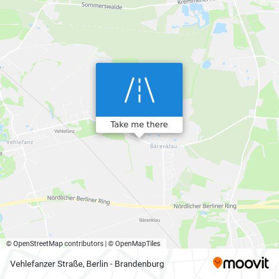Vehlefanzer Straße map