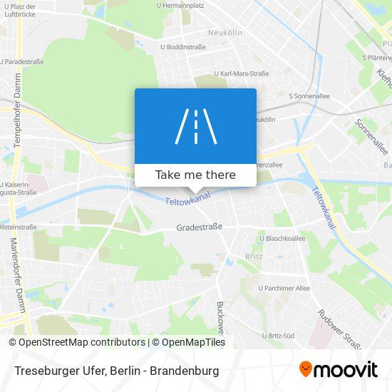 Treseburger Ufer map