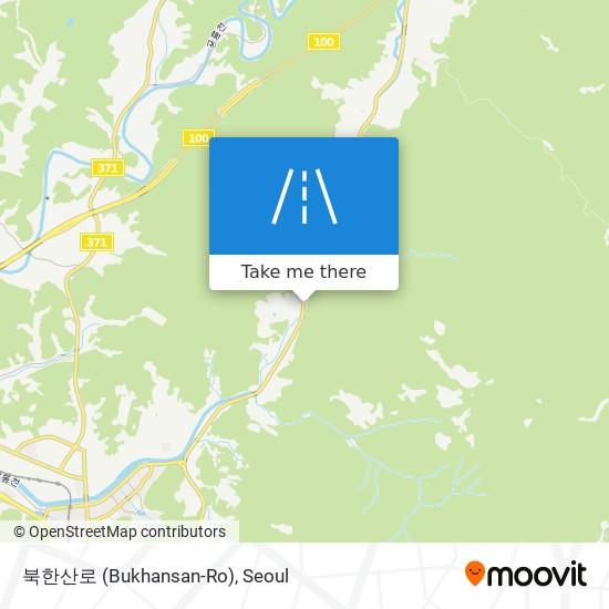 Bản đồ 북한산로 (Bukhansan-Ro)