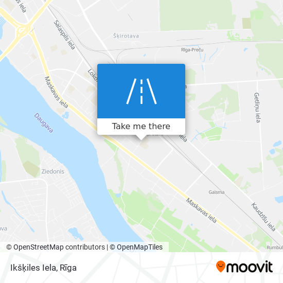 Ikšķiles Iela map