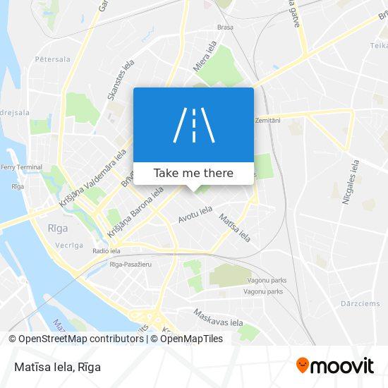 Matīsa Iela map