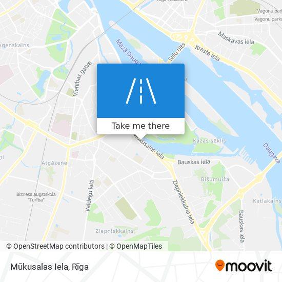 Mūkusalas Iela map