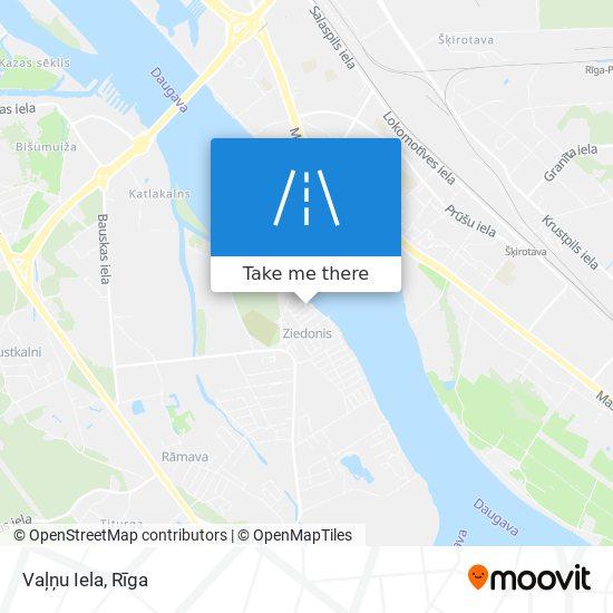 Vaļņu Iela map