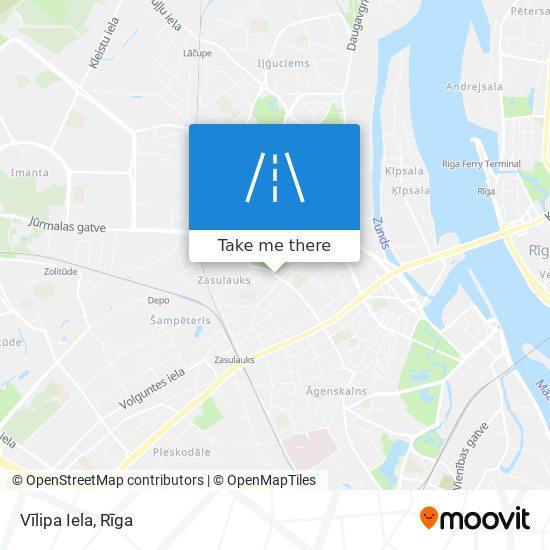 Vīlipa Iela map