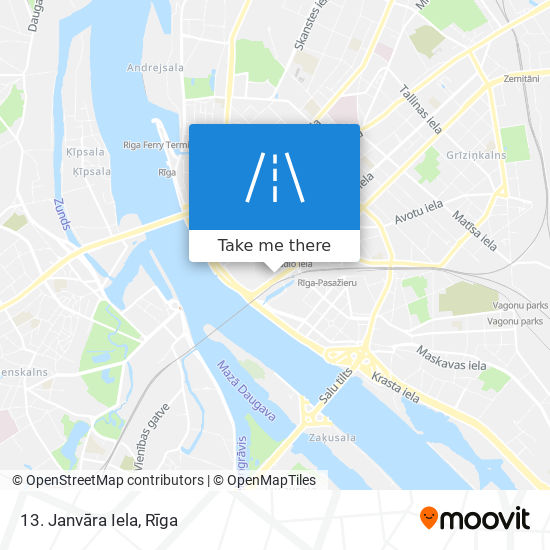 13. Janvāra Iela map