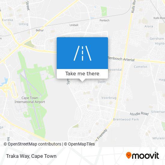 Traka Way map