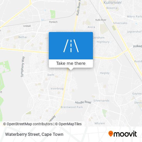 Waterberry Street map