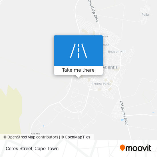 Ceres Street map