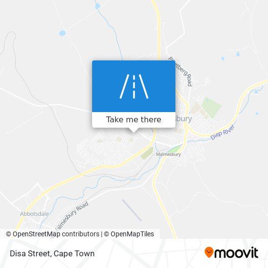 Disa Street map