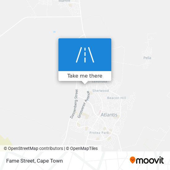Fame Street map