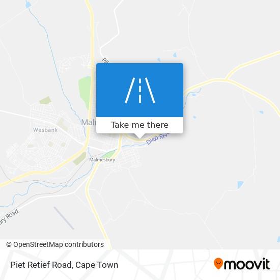 Piet Retief Road map