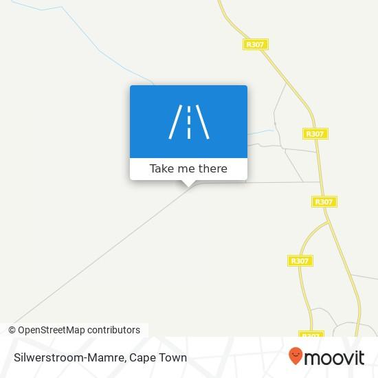 Silwerstroom-Mamre map