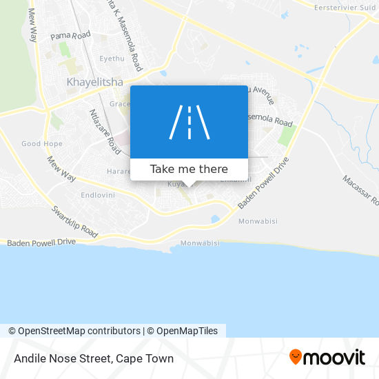 Andile Nose Street map