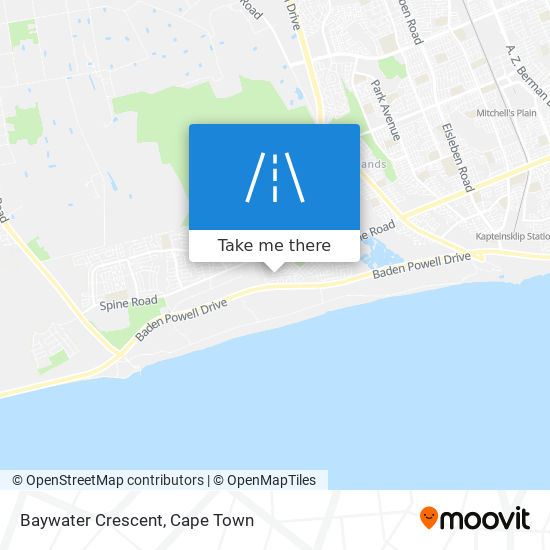 Baywater Crescent map