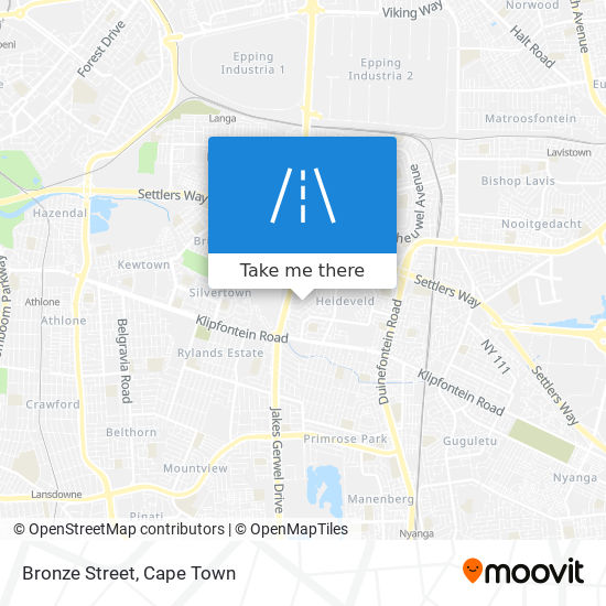 Bronze Street map