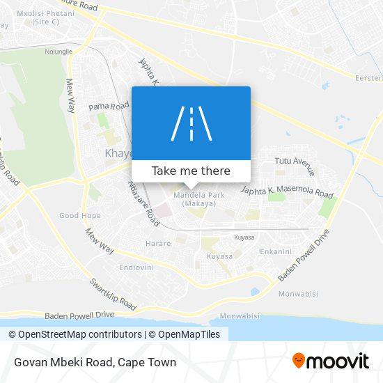 Govan Mbeki Road map