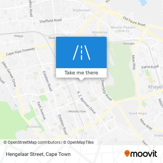 Hengelaar Street map