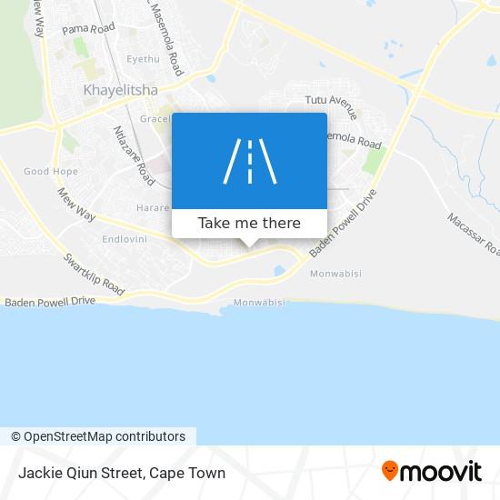 Jackie Qiun Street map