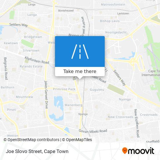 Joe Slovo Street map