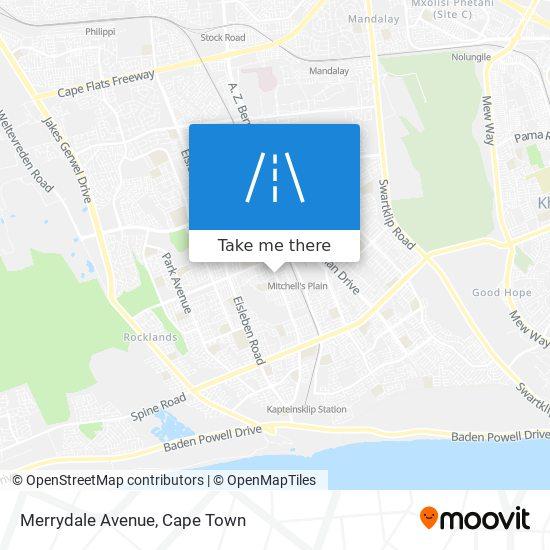 Merrydale Avenue map