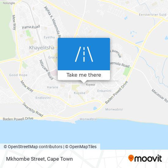 Mkhombe Street map