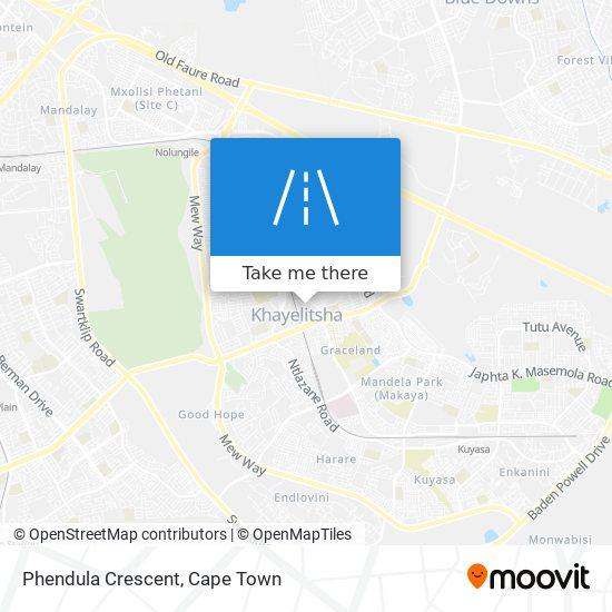 Phendula Crescent map