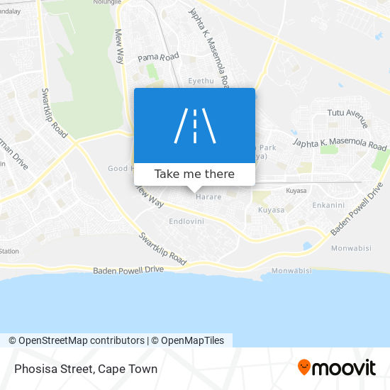 Phosisa Street map
