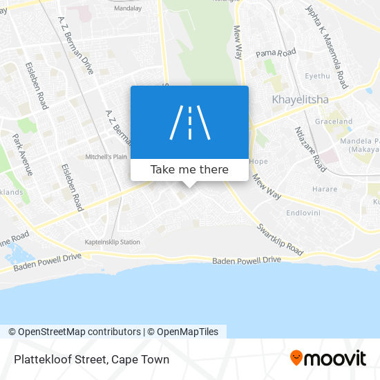 Plattekloof Street map