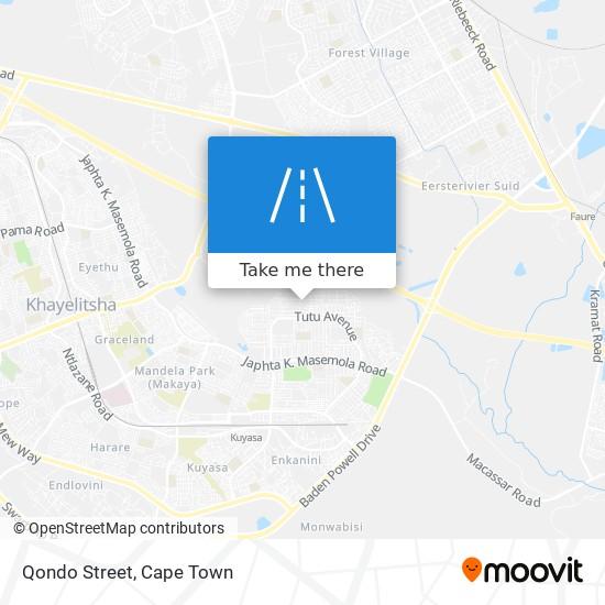 Qondo Street map