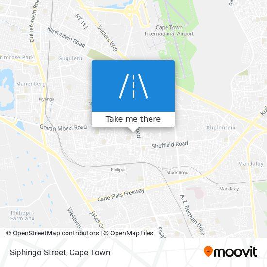 Siphingo Street map