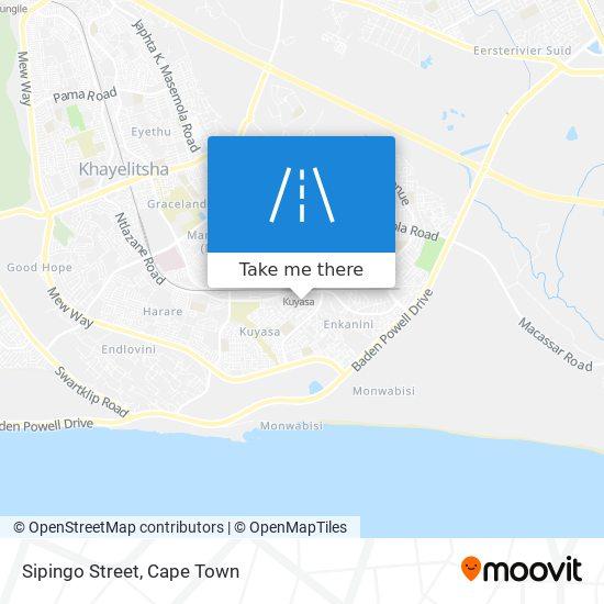 Sipingo Street map