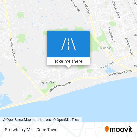 Strawberry Mall map