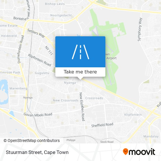 Stuurman Street map