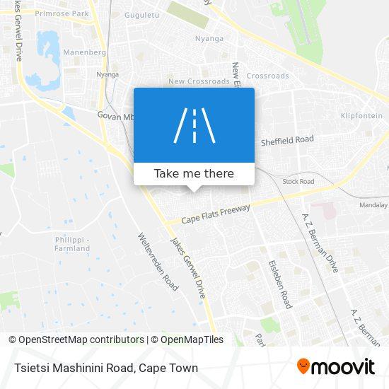 Tsietsi Mashinini Road map