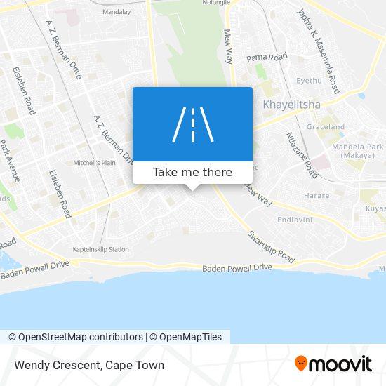 Wendy Crescent map