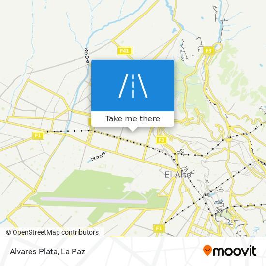 Alvares Plata map