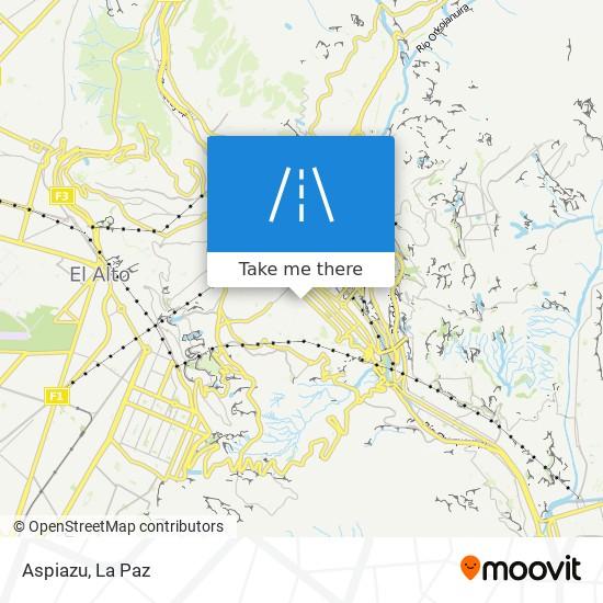 Aspiazu map