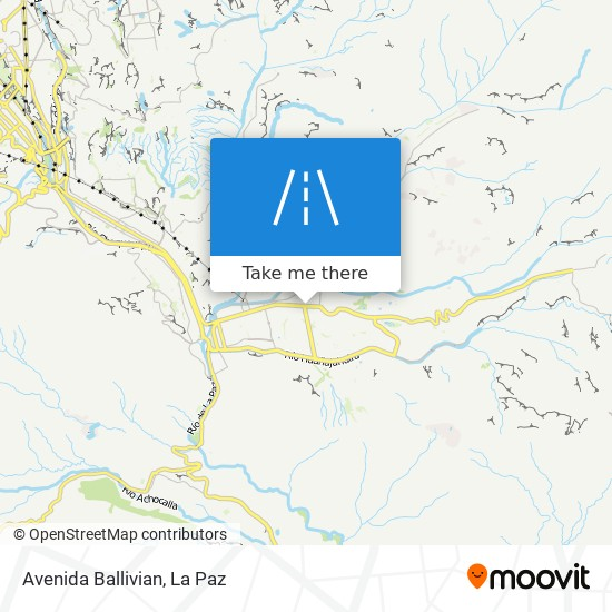 Avenida Ballivian map