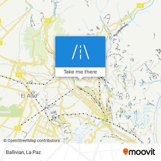 Ballivian map