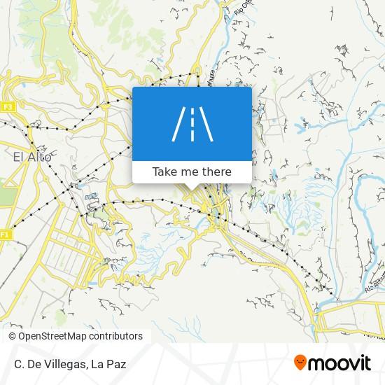 C. De Villegas map