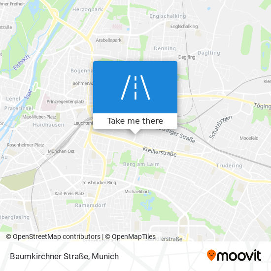 How To Get To Baumkirchner Strasse In Berg Am Laim By Bus Subway Train Or S Bahn Moovit