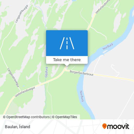Baulan map