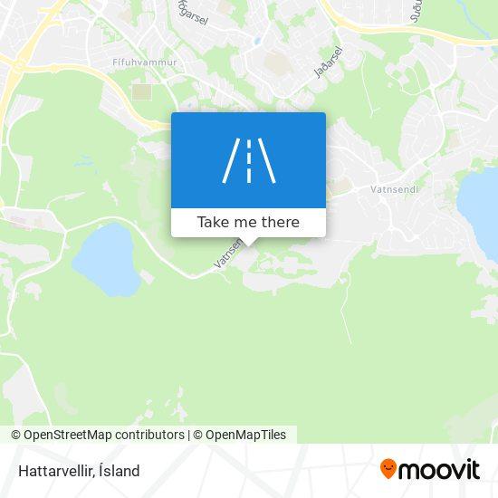 Hattarvellir map