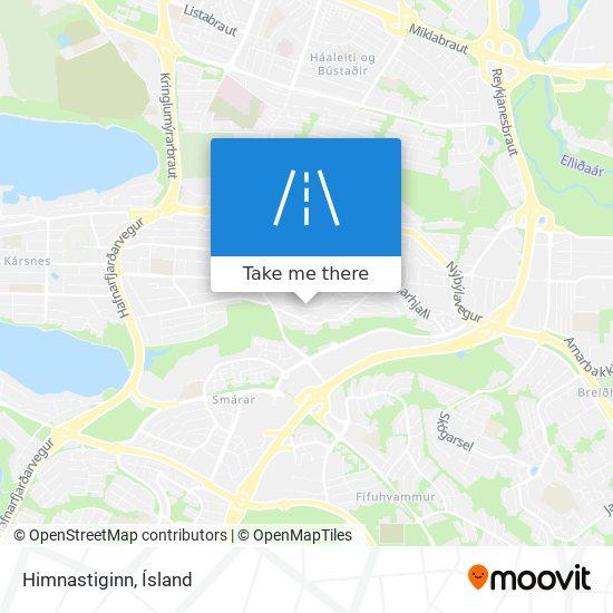 Himnastiginn map