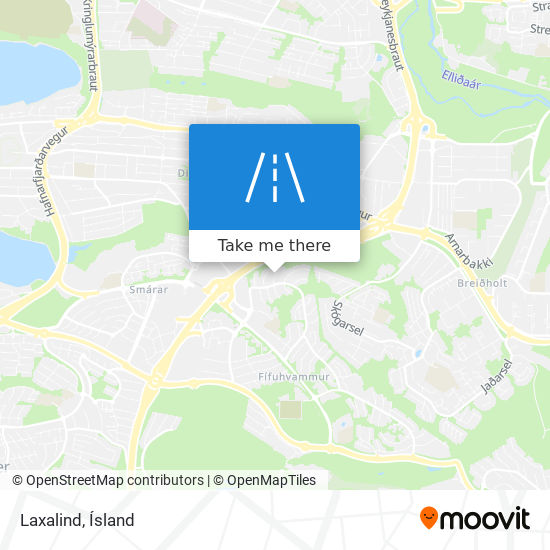 Laxalind map